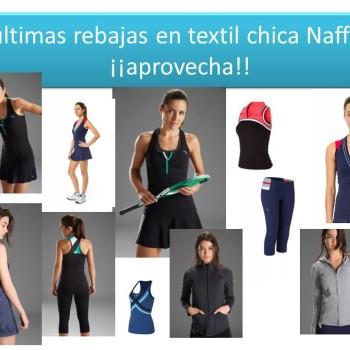 ¡¡¡últimas rebajas en textil chica Naffta!!!