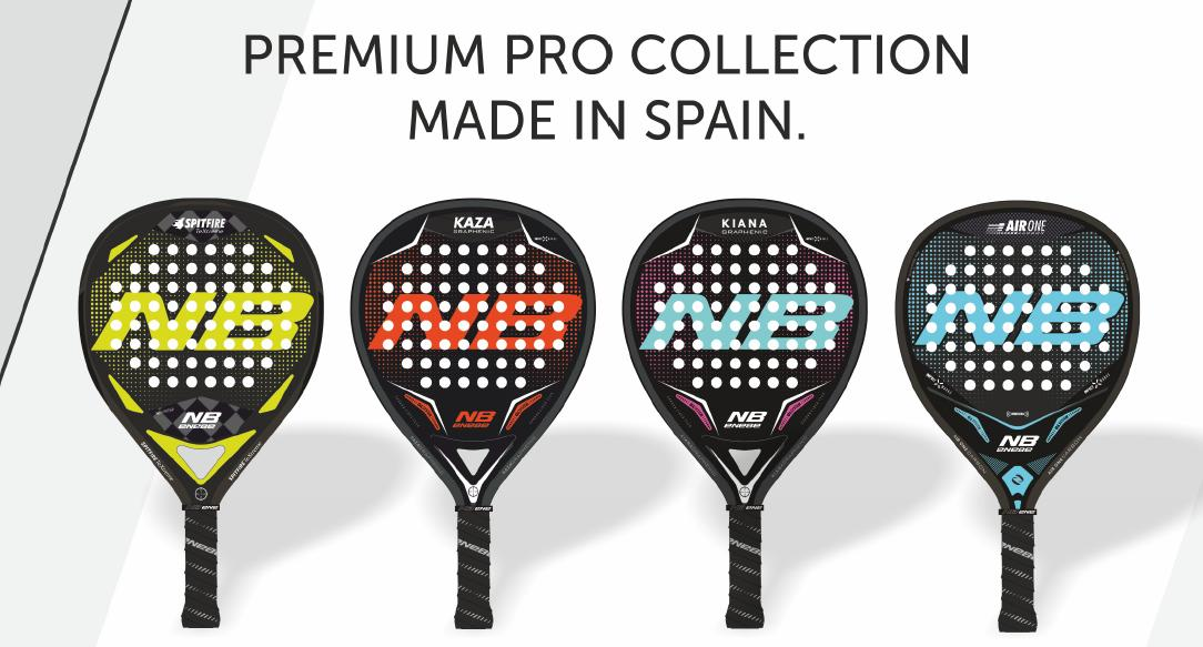 "NUEVAS PALAS ENEBE ""PREMIUM PRO COLLECTION MADE IN SPAIN"""